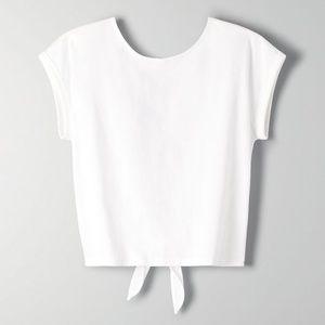 Aritzia Wilfred Cotton Adela T Shirt